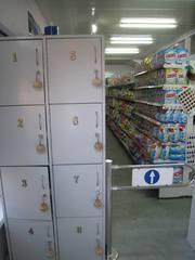 Шкаф для покупателей (камера хранения) на 8 ячеек