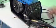 Сварочный полуавтомат Solaris TOPMIG-220 с баллоном