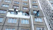 Промышленный альпинизм в Жлобине