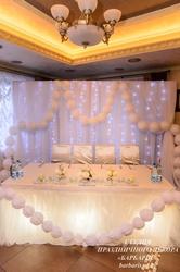 Украшение свадебных залов в Жлобине