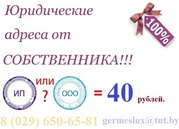 Юридический адрес в аренду в г. Жлобин